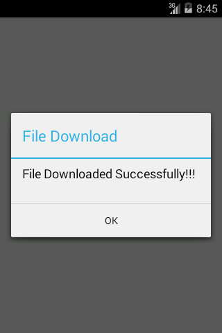 Android Tutorial on Progress Bar File Download || Progress Bar Example